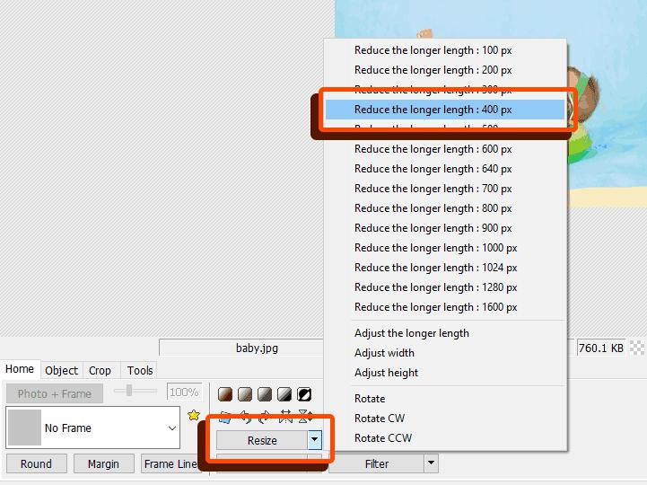Cara merubah ukuran foto di Photoscape