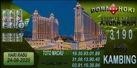 Prediksi Toto Macau Dora Hoki Rabu