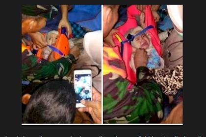 CEK FAKTA: Bayi Korban Sriwijaya Air Ditemukan Selamat Terombang-ambing di Laut