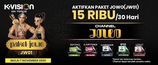 Paket JOWO K Vision Terbaru (JW01)