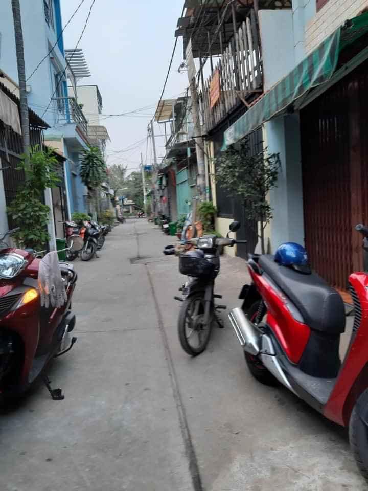 Bán nhà quận Bình Tân dưới 3 tỷ, hẻm 355 Mã Lò phường Bình Trị Đông A. Dt 4x10m