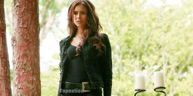 Katherine Lady In Black Outfit