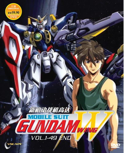 Mobile Suit Gundam Wing , New Mobile Report Gundam Wing, Shin Kidou Senki Gundam Wing , 新機動戦記ガンダムW , TV , Action, Military, Sci-Fi, Space, Drama, Mecha , Bandai Entertainment , TV Asahi , Sunrise , Anime , 1995