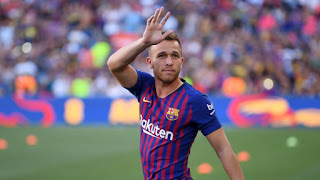 Arthur to return to Barcelona tomorrow to try agree his exit