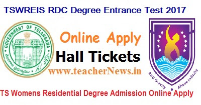 TS Women Residential Degree Admission Test 2017 Notification, Online Apply, TSWD CET Exam Patter, Syllabus