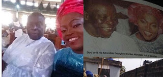 Funke Akindele And Her Siblings Absence At Their Father's Funeral In Lagos (Photo)
