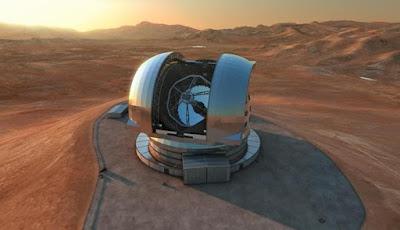ELT, Teleskop Terbesar di Dunia yang Sedang Dibuat