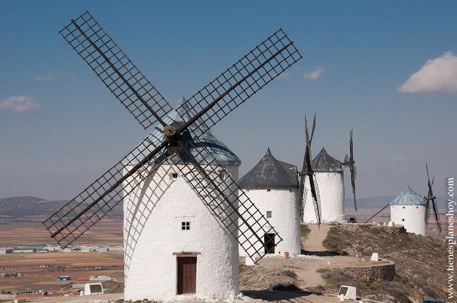 Molinos de viento de Consuegra Toledo