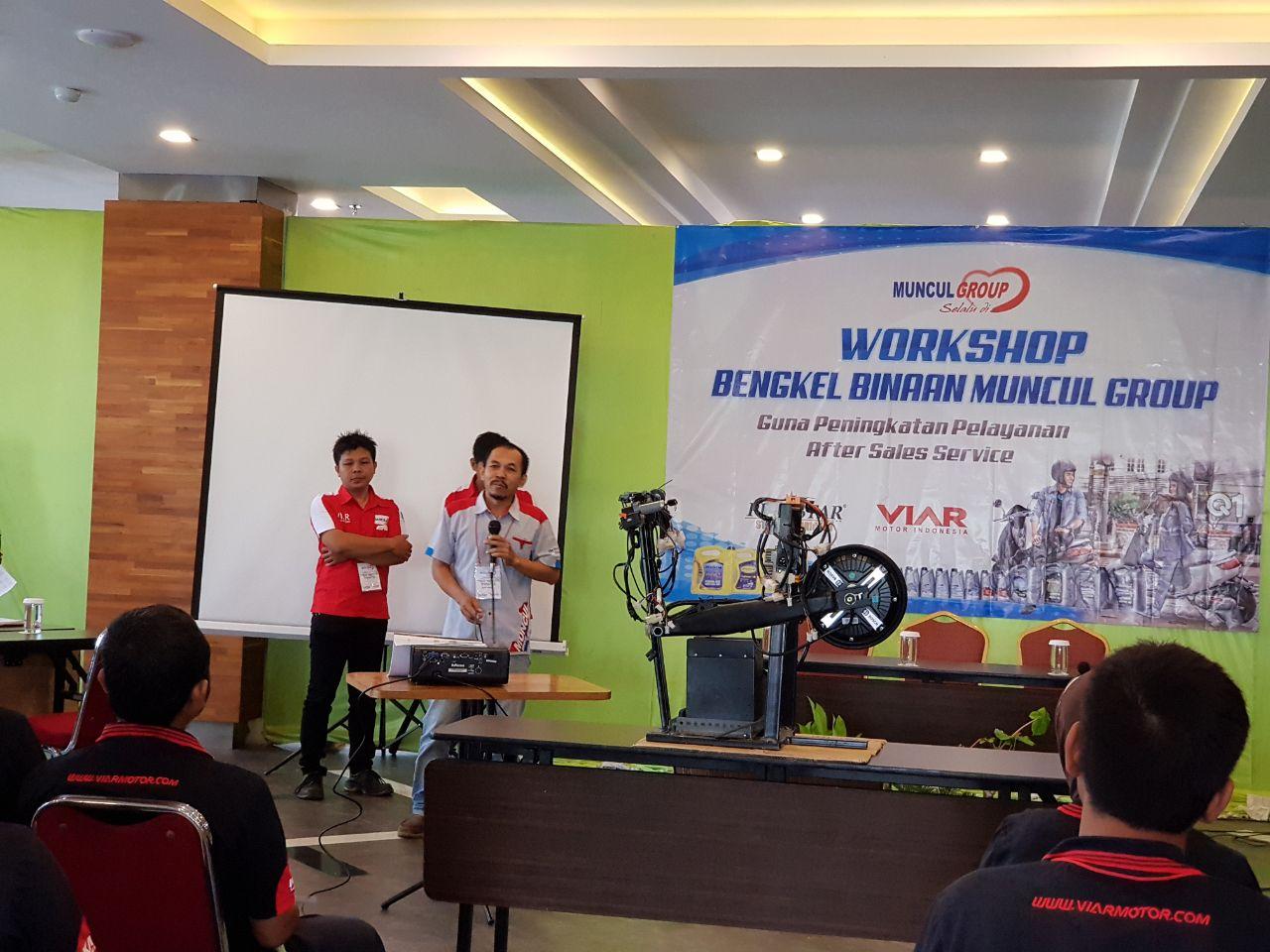 25 Bengkel Binaan Muncul Group Ikuti Workshop di Meotel Kebumen