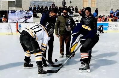 Khelo India Ice Hockey Tournament inaugurated in Kargil