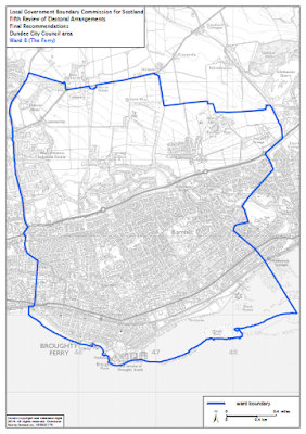 Proposed New Boundary for Ward 8 The Ferry May 2016