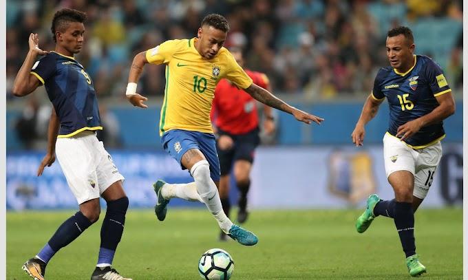 Seleção brasileira encara na noite desta sexta-feira o Equador em Porto Alegre (RS) pelas Eliminatórias