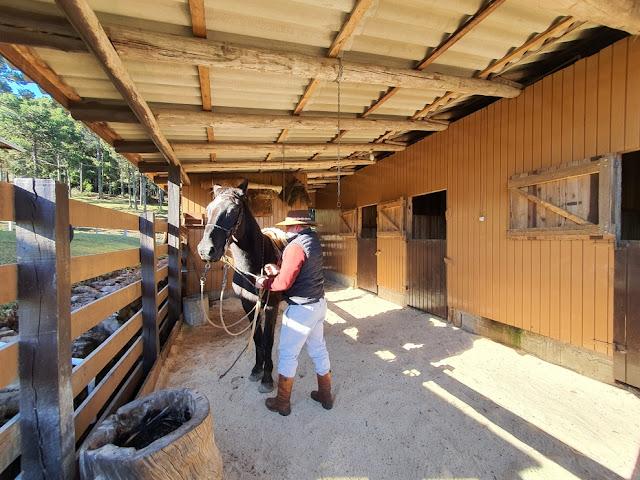 Cavalgada na Fazenda Monte Negro