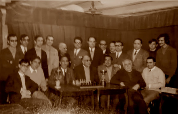 Club de Ajedrez Tortosa en 1970