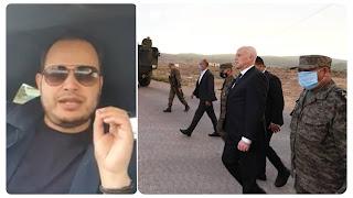 سمير الوافي لقيس سعيد ممنوع منعاً باتاً القاء الخطب سياسية في ثكنات العسكرية و الجوامع