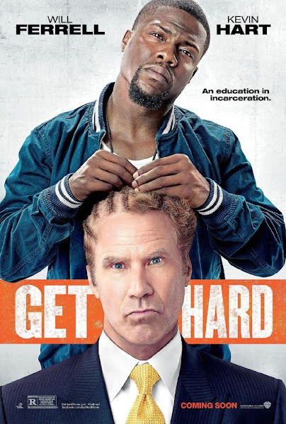 Poster Of Get Hard 2015 UnRated 720p English BRRip Full Movie Download