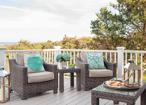 Porch Lounge Furniture Seating Set