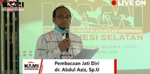KAMI Sulsel Dideklarasikan, Strukturnya Sama Dengan Yang Di Jakarta 18 Agustus