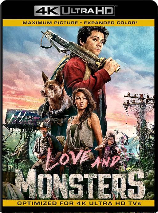 Amor y Monstruos (2020) BDRip 4K HDR Latino [GoogleDrive] Ivan092