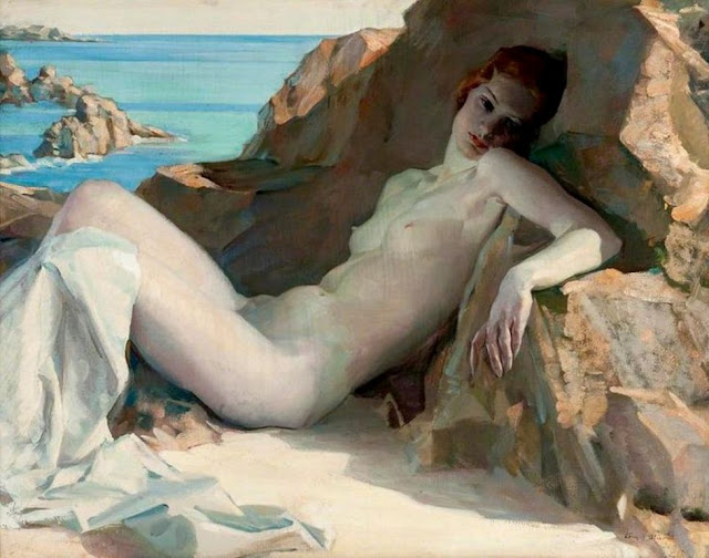 Henry Young Alison, Il nude in arte, Artistic Nude