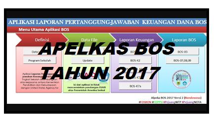 Aplikasi Laporan Pertanggung Jawaban Keungan Dana BOS Tingkat Sekolah Tahun 2017