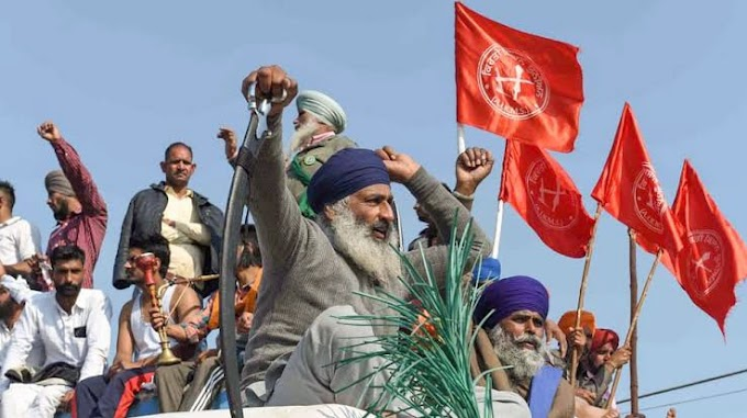 Class war is going on in Delhi in the form of farmers' movement