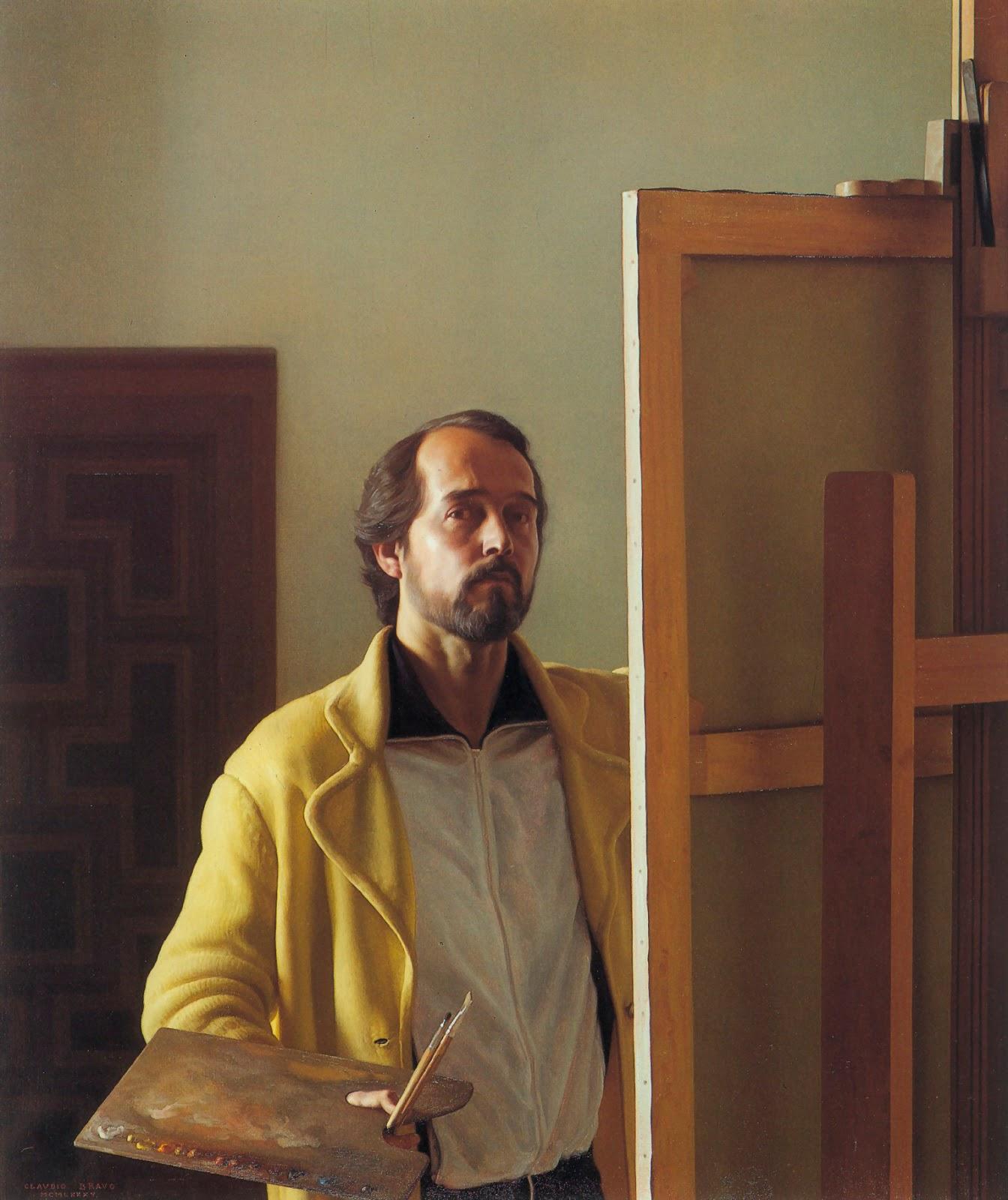 Claudio  ravo Camus A self portrait