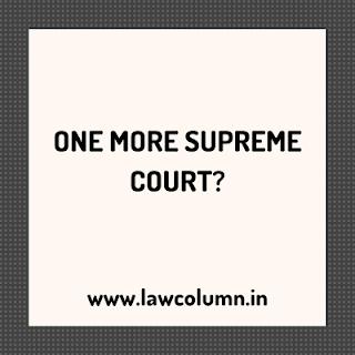ONE MORE SUPREME COURT?