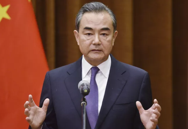 Foreign Minister Wang Yi delivered strong statements aimed at the United States.