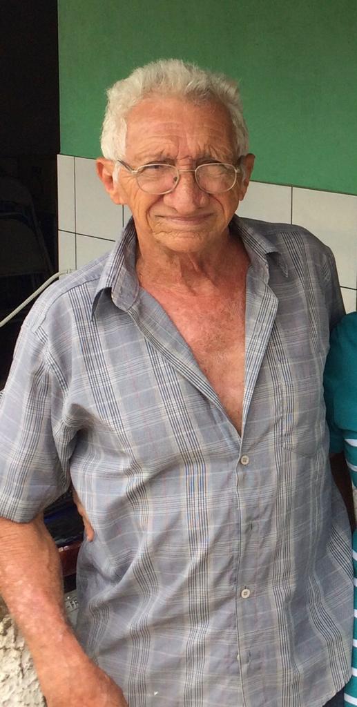 LUTO: Seu Bernardino Andrade, pai da empresária Rejane da Realce Baby morre aos 75 anos em Elesbão Veloso