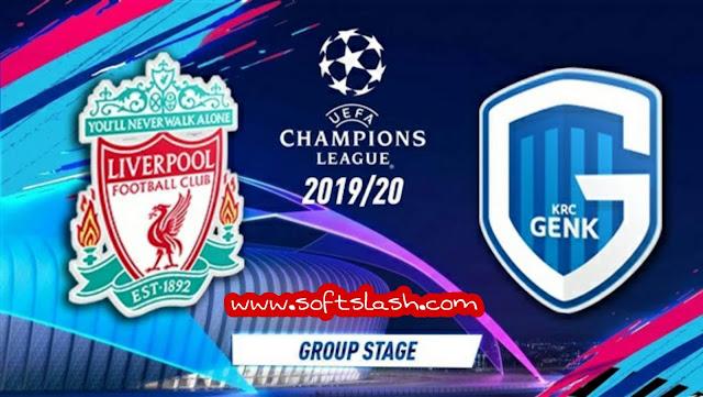 شاهد مباراة Liverpool vs Genk live بمختلف الجودات