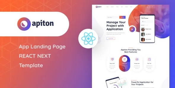 Download App Landing Page Template