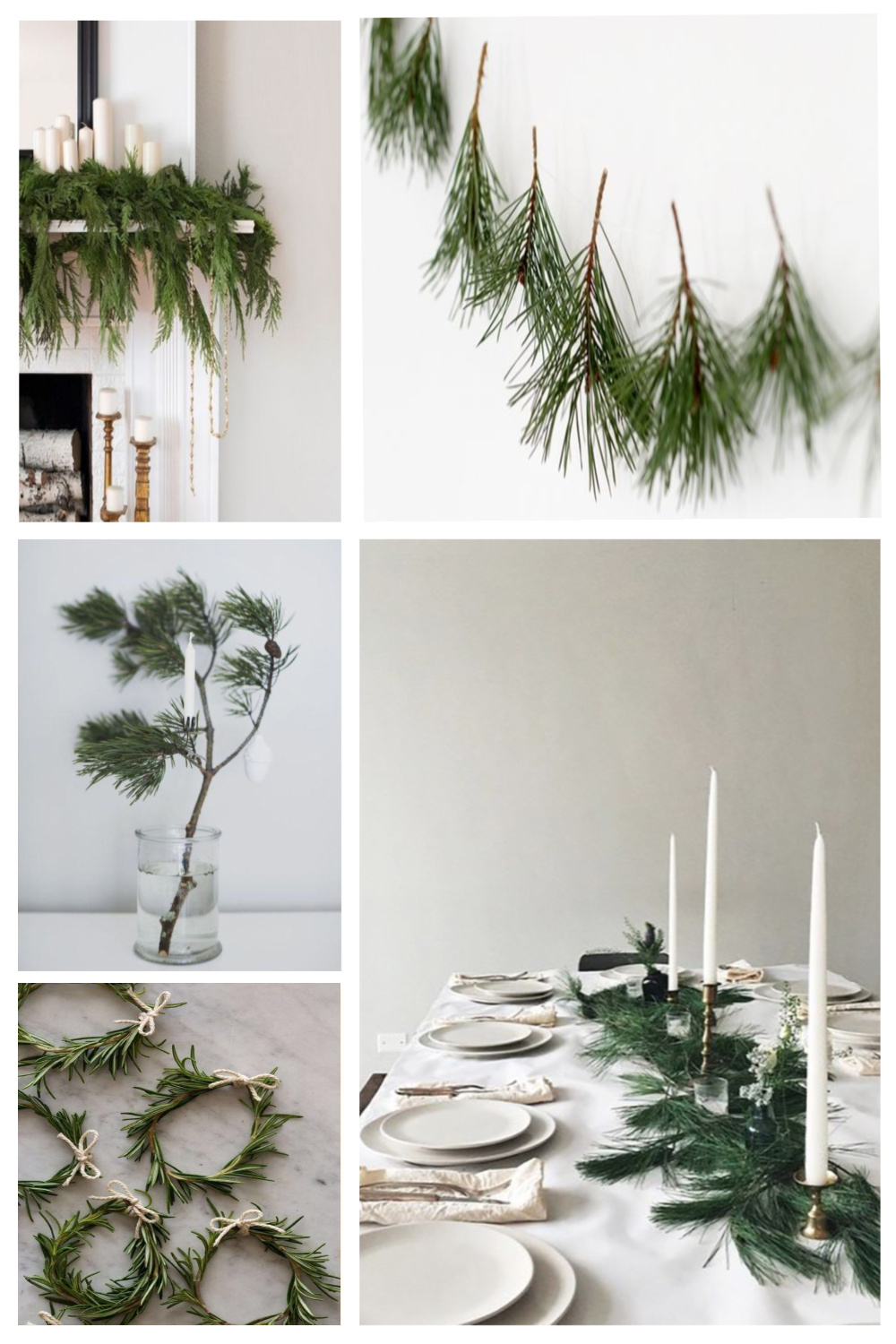 Natural Christmas Decorations For Your Home Burkatron
