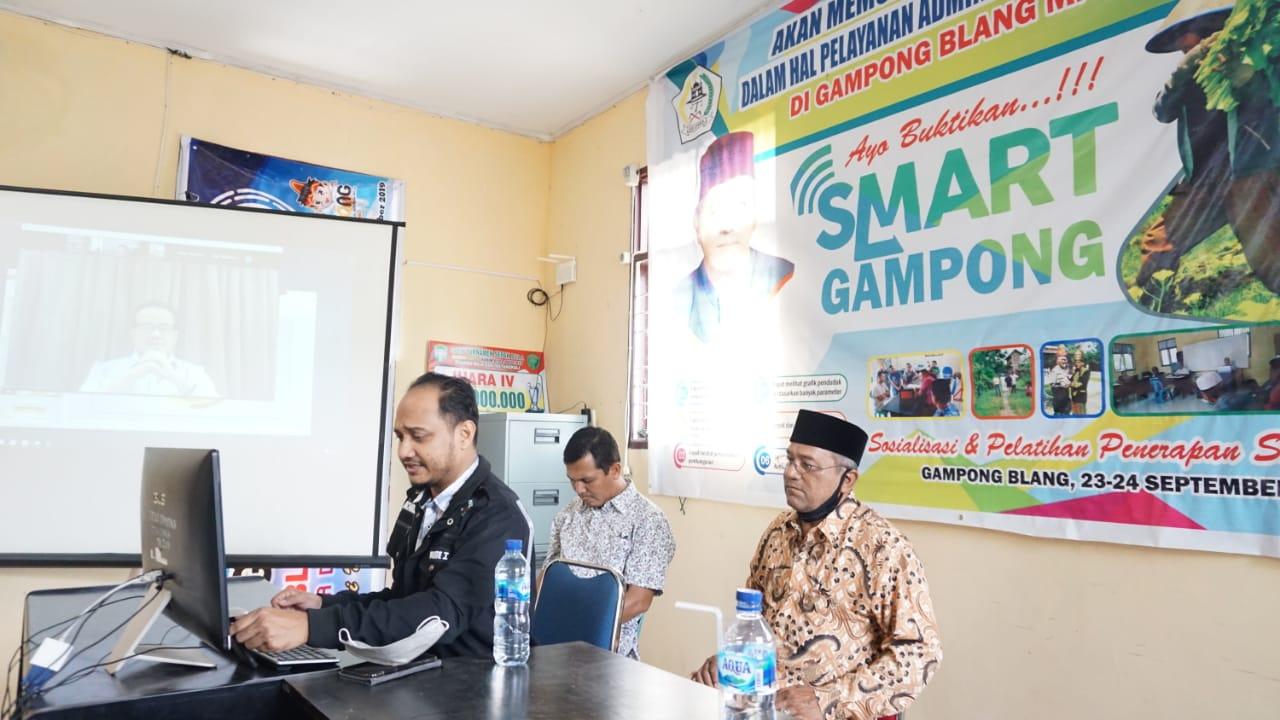 Senator Fachrul Razi Paparkan Manfaat Program Smart Gampong Aceh