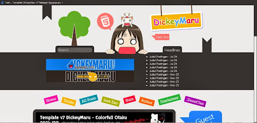 DickeyMaru v7 - Colorfull Otaku