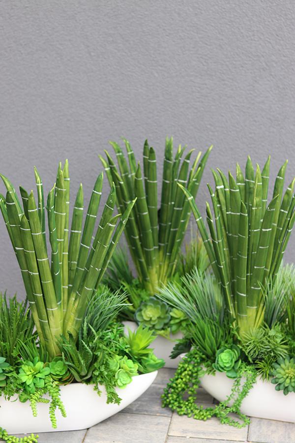 Dekoracje ze sztucznych roślin do biur, hoteli, restauracji