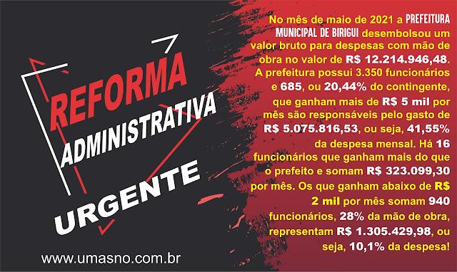 Reforma Administrativa - Blog do Asno