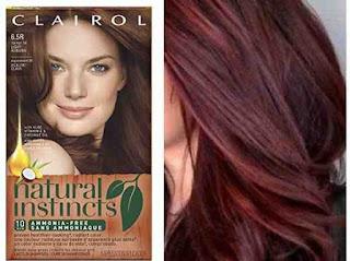 صبغة كليرول بدون امونيا لتغطية الشعر الابيض