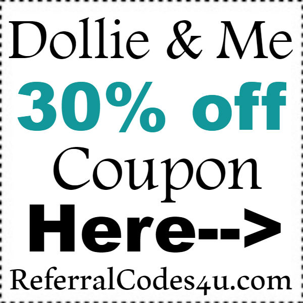 Dollie&Me Discount Code 2016-2017, Dollie and Me Coupon October, November, December