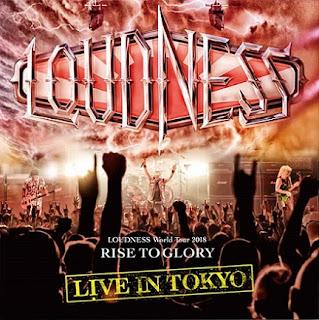"""Ο δίσκος των Loudness """"Live in Tokyo"""""""