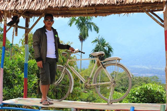 Photo : Spot Sepeda Tua di Kebun Villa Ungu Kutacane - Aceh Tenggara