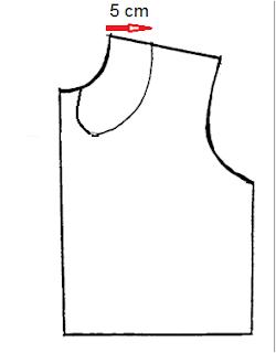 patrón de cuello