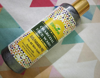 Divine India Charcoal Face wash