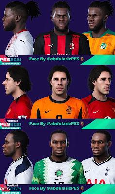 PES 2021 Faces Nistelrooy, Okocha & Kessié by Abdulaziz