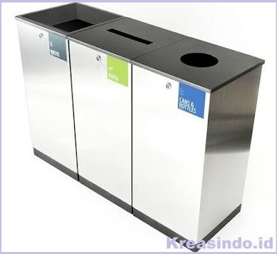 Harga Tempat Sampah Stainless, Tempat Sampah Besi dan Gerobak Sampah Besi