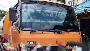 Pengendara Sepeda Motor Meninggal Dunia Tergilas Mobil Tangki CPO di Jalan Marelan Raya