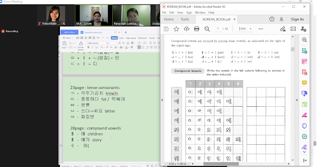 Pengalaman Mengikuti Kelas Bahasa Korea Anjuran AMC College | WINICHELEN OFFICIAL BLOG