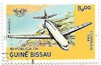 Selo Avião Caravelle