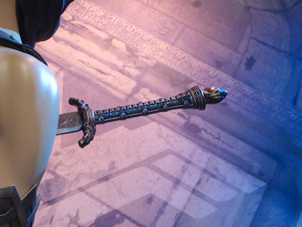 Batman v Superman Wonder Woman sword hilt