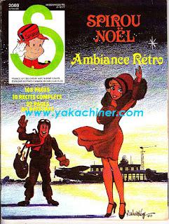 couverture de Walthéry sur yakachiner.com